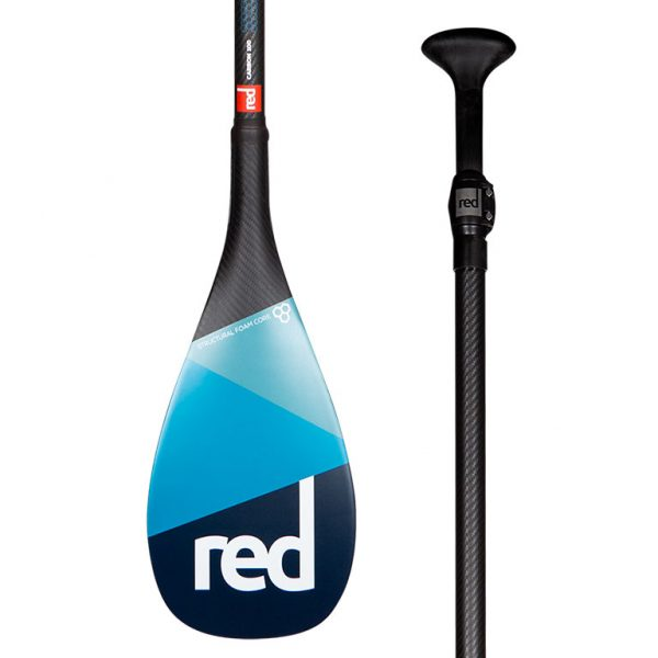 Весло разборное RED PADDLE CARBON 100