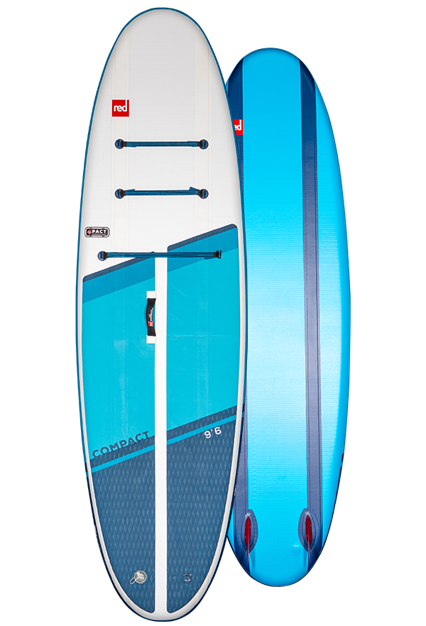 """Доска SUP надувная RED PADDLE 9'6"""" COMPACT PACKAGE 2021"""